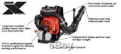PB-8010T Echo Backpack Leaf Blower 79.9 cc 211 mph 5 Year Warranty Professional