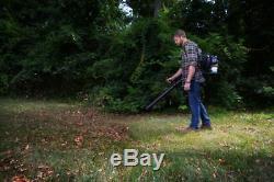 Poulan Pro Backpack Gas Powered Leaf Blower Machine Yard Garden 200 MPH 48CC