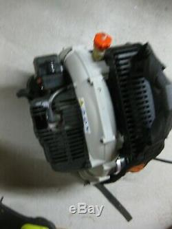 Pre-owned! Tested! Works good! Echo backpack leaf blower PB-403T