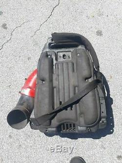 REDMAX EBZ7500 Professional Back Pack Leaf Blower Hip Throttle
