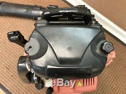 REDMAX EBZ8500 Professional Back Pack Leaf Blower Hip Throttle 2016