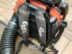 REDMAX EBZ8500 Professional Back Pack Leaf Blower Hip Throttle 2018