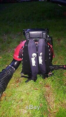 REDMAX EBZ8500 Professional Back Pack Leaf Blower Hip Throttle SAME DAY SHIPPING