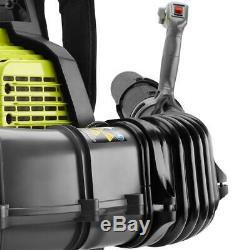 RYOBI 175 MPH 760 CFM 38cc Gas Backpack Leaf Blower RY38BP