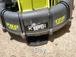 RYOBI 175 MPH 760 CFM Gas Backpack Leaf Blower. 2 pack