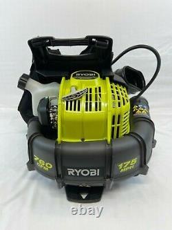 RYOBI 2 Cycle 38cc Gas Backpack Leaf Blower 175 MPH 760 CFM RY38BPVNM