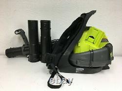RYOBI RY40404 Backpack Blower Lithium Ion Cordless 145 MPH 625 CFM 40V A155