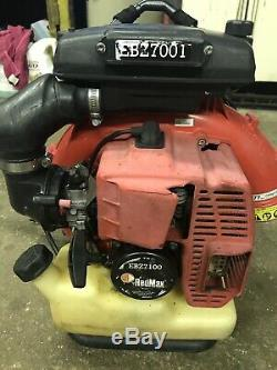 Red Max EBZ7100 Back Pack Leaf Blower for parts not working