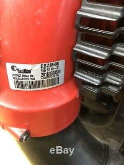 RedMax EBZ8500 Gas Backpack Leaf Blower nice