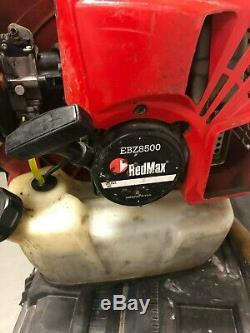 Redmax Ebz8500 Backpack Leaf Blower Good Condition