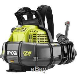 Ryobi 175 MPH 760 CFM 38cc Gas Backpack Leaf Blower RY38BP VERY NICE & POWERFUL