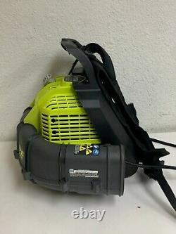Ryobi Backpack Leaf Blower 175 MPH 760 CFM 38cc 2-Cycle Gas Adjust. Speed R712