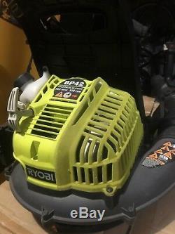 Ryobi RY08420A BP42 185 MPH 510 CFM Gas Backpack Leaf Blower