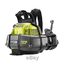 ^Ryobi RY38BP 175 MPH 760 CFM 38cc Gas Backpack Leaf Blower