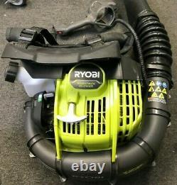 Ryobi RY38BP Backpack Leaf Blower 175 MPH 760 CFM 38cc 2-Cycle Gas, GD M