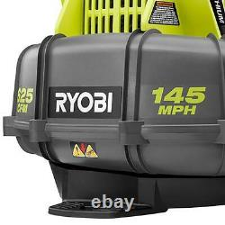 Ryobi RY40440 145 MPH 625 CFM 40-V Cordless Backpack Blower Battery and Charger
