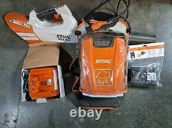 STIHL AR 3000 BATTERY BACKPACK Leaf BLOWER + BGA 100 +AL100/300/500, AP ADAPTER
