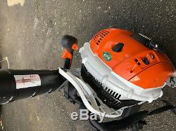 STIHL BR600 BACK PACK LEAF BLOWER EXCELLENT CONDITION. Year 2019 5 days old