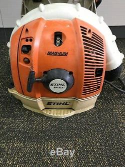 STIHL BR600 COMMERCIAL BACKPACK LEAF BLOWER- Good Used Condition