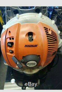 STIHL BR600 MAGNUM GAS POWERED BACKPACK LEAF BLOWER Excellent