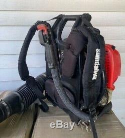 Shindaiwa Eb802 Gas Powered Backpack Leaf Blower Tested And Runs Great