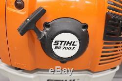 Stihl BR 700 X Backpack Leaf Blower 3.8 bhp 47.3 fl. Oz Fuel Capacity 64.8 cc