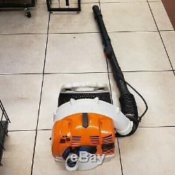 Stihl BR350 BR 350 Mid-Range Backpack Leaf Blower 63cc Gas (may need carb clean)