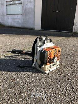Stihl BR380 Heavy Duty Backpack Petrol Leaf Blower. Good Working Order