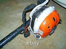 Stihl BR600 Backpack Leaf Blower 65cc Tested Working with Free Shipping BR 600