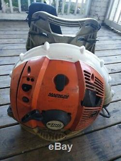 Stihl BR600 Magnum Professional Gas Powered 64.8cc Backpack Leaf Blower