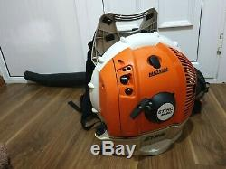 Stihl BR600 Petrol Backpack Leaf Blower powerful and professional 2018 year