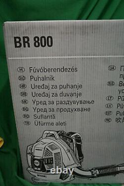 Stihl BR800X Magnum Gas Powered Backpack Leaf Blower Brand NEW