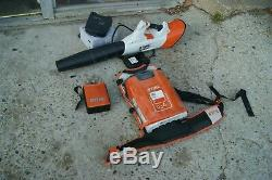 Stihl Bga 100 Battery Backpack 36v Leaf Blower With Ar 2000 Pack -al 101 Charger
