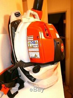 Stihl Br 800c-e Magnum Commercial Gas Leaf Blower Backpack