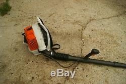 Stihl Br350 Gas Powered Backpack Leaf Blower We Ship Only On The East Coast