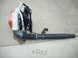 Stihl Br600 Commercial Gas Backpack Leaf Blower