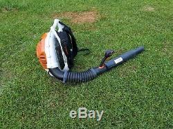 Stihl Br600 Magnum Gas Powered Backpack Leaf Blower