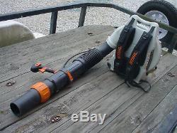 Stihl Br700 Gas Powered Backpack Leaf Blower