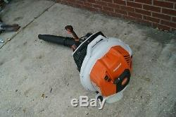 Stihl Br800x Magnum Gas Powered Backpack Leaf Blower