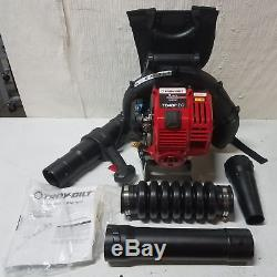 Troy-Bilt 4-Cycle Backpack Leaf Blower 32cc, 500 CFM, Model# TB4BP EC