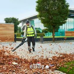 Turbo Backpack Leaf Blower 56V Lithium Ion Cordless Brushless 146 MPH 600 CFM