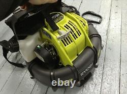USED RYOBI Backpack Leaf Blower 175 MPH 760 CFM 38cc Engine Adjustable Speed
