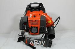 Used Husqvarna 150BT-RECON Backpack Blower Leaf Hand Throttle 2 Cycle SDP000341